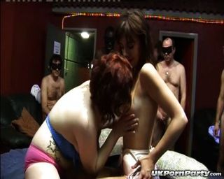 uk Amateure Gang Bang Party in einem Sex-Club