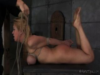 Big Tits Blond In Bondage