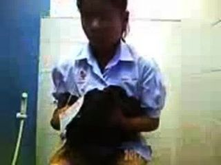 hidden cam - anak smp thailan pipis di Toilette Upload von: bokepers Community