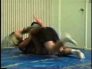 Flamingo Mixed Wrestling mw066 2 - jill vs Brett Teil2