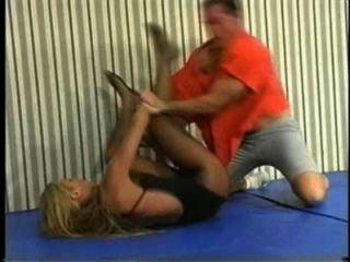 Flamingo Mixed Wrestling Mw086 - Jessica Vs Charlie Teil1