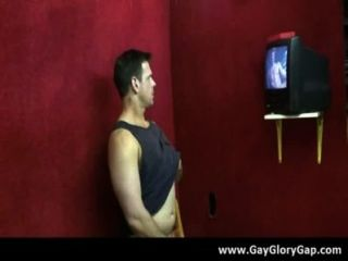 Homosexuell hardcore Glory Hole sex porn and nasty Homosexuell Handjobs 08