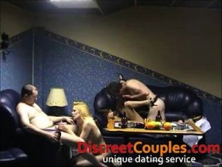 hausgemachte Swinger Sex Party