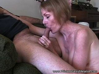 Gmilf Amateur Blowjob \u0026 Facial