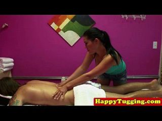 echte asiatische masseuse in frech hj session