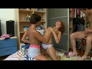 meddie und avina teenage threesome