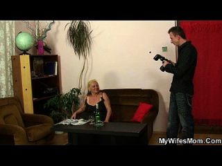 Mutter Inlaw Tabu Sex nach Photosession
