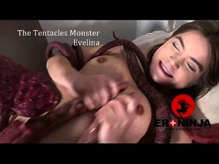 Das Tentakel Monster Evelina Darlina