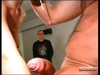 Sperma: Cumshots + deep throat - cum slut niki