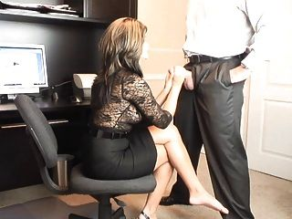 hot Milf Büro oral