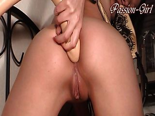 30 cm Dildo innen - Passion-Girl Deutsch Amateur