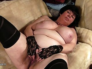 Monster tits german bbw mature gets fucked amp sprayed br