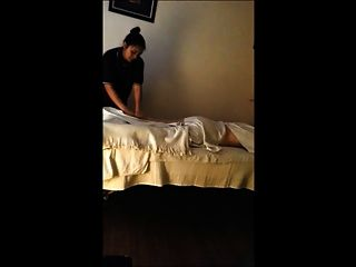 Thai-Massage - hidden cam