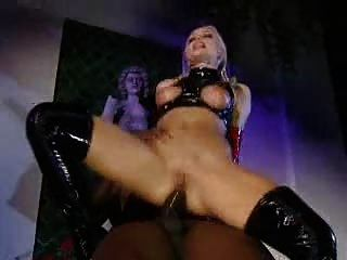Silvia Saint in Latex assfucks