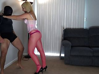 ballbusting - hot blondeballbuster