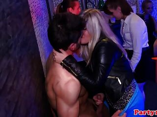 This young sexy blonde gets fucked