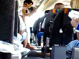 Masturbation in Bus 2 drkanje u 2 BUSU