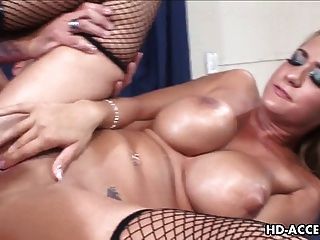 vollbusige Trina Michaels, Hardcore Sex