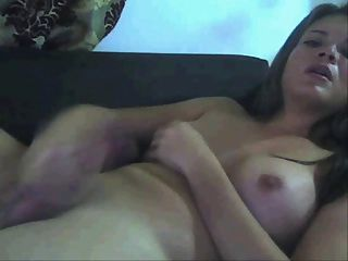 Shemale cum Webcam