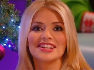 Holly Willoughby lecken Bälle