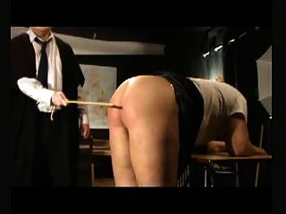 Didn't caned bottom punishment and bondage pushin back in!