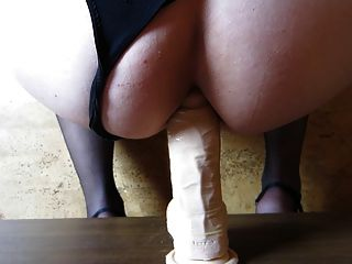 Dildo Training (Sissy Boy in Aktion)