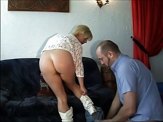 blonde Deutsch Milf heidi
