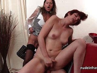ffm 2 milfs hart sodomized fisted und facialized in threeway