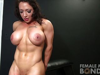bondage sex girl muskel mann video