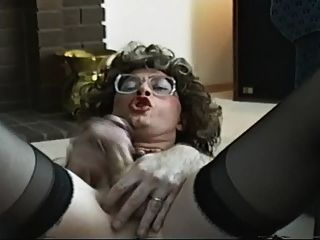 Masturbation Spaß beim Crossdressed