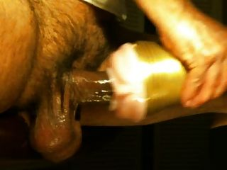 latin uncut daddy hard fleshlight fuck