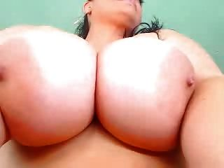 Sexy Curvy Big Tits Milf Strip