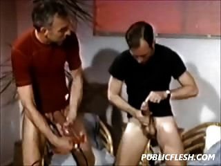 Retro Homosexuell Penis Pumpers