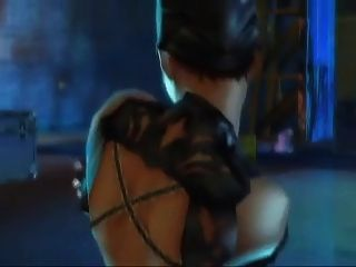 sexy catwoman animation
