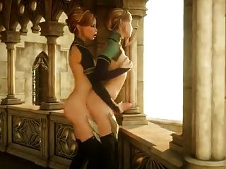 Hot Futa Elf auf Futa Elf Action