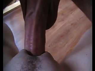 Big Dick Fucking Eine Enge Pussy In Close Up Aktion