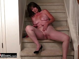 usawives reife Dame Jade Solo Masturbation