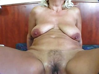 Reife Blonde Buttfucked