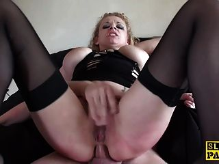 british bdsm sub assfucked vor cuminmouth