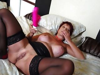 fun vollbusige blonde Milf nimmt how hard make