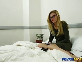 Privat Casting x extra für enge Pussy