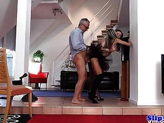 glam eurobabe assfucked in edel dreifach
