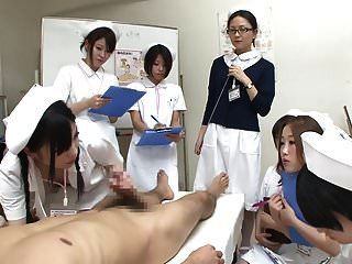 Jav Nurses Cfnm Handjob Blowjob Demonstration Untertitelt