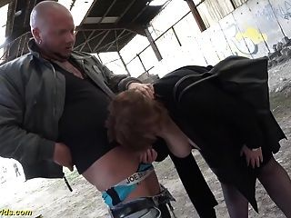 deutsch bbw milf outdoor gefickt