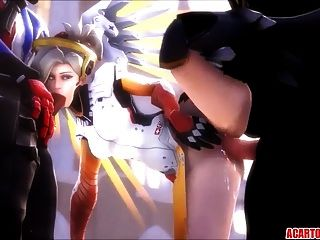 Mercy Sex Compilation für Fans