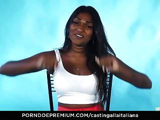 Casting alla italiana indian babe freches interview