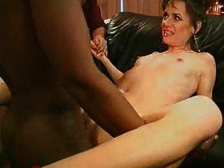 Seduced by big pendulous tits