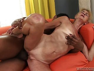 Oily big ass naked